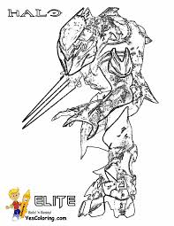 Small Picture Heroic Halo 4 Coloring Pages Halo 4 Free Halo Coloring