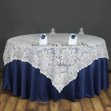 round tablecloth astounding silver 120 in polyester tablecloths tablecloths catering tablecloths banquet tablecloths blue and white color