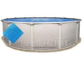 27 round heavy duty blue solar cover