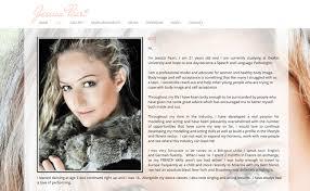 exles makeup artist resume sles jessica peart 8 artist bio exle