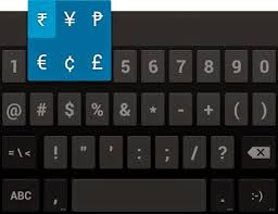 How To Insert Rupee Symbol On Android Buffoon Logic