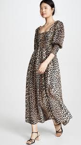 Ganni Cotton Silk Dress Shopbop Save Up To 25 Use Code