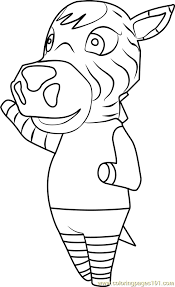 Small Picture Savannah Animal Crossing Coloring Page Free Animal Crossing