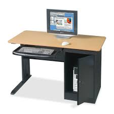 perfect lockable computer desk
