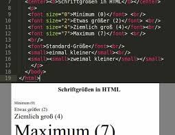 HTML: Schriftgröße ändern - so geht's - CHIP