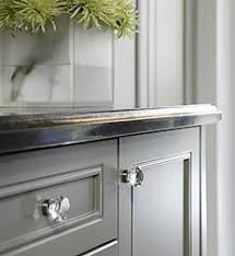 Awesome Gray With Glass Knobs. Paint Color Is Sage Gray Glidden. Nice Look