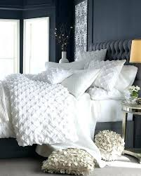 all white bed set all white bedding set dark gray bedroom walls and upholstered headboard all white comforter set and
