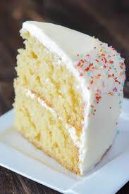 Vanilla Dream Cake The Novice Chef