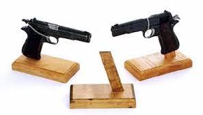Handgun Display Stand Fort Sandflat ProductsPistol Stands 32