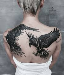 Raven Tattoo Meanings Designs And Ideas Tatring