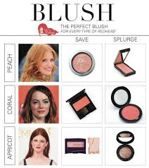 save or splurge the best blush choices for redheads