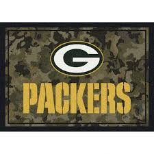 camo area rug green bay packers x at the pro burnt orange rugs purple washable