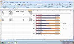 Free Gnatt Chart Free Gantt Chart Template For Excel 2007 3 Gantt Chart Excel 2007
