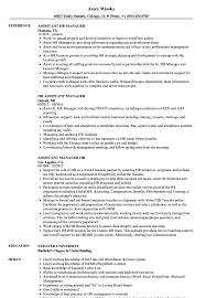 assistant manager skills hr assistant manager resume samples velvet jobs