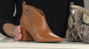 Marc Fisher Shoes Size Chart Marc Fisher Retta Block Heel Ankle Boot Qvc Uk