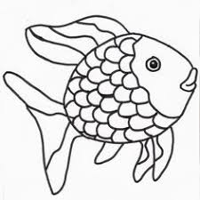 Rainbow Fish Outline Free Download Best Rainbow Fish Outline On