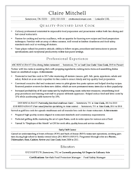 Prep Cook Resume Sample Resume Prep Cook Resume 18
