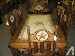 rustic dining room tables texas. stone star rustic dining table - $1242 rustic dining room tables texas
