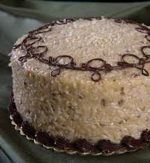 Decorated German Chocolate Cake Traditional Cakes Admirable German Chocolate Cake Decorating Idea