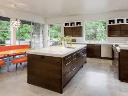 image of best flooring for kitchen polished