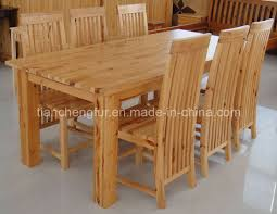 Dining Room Table 6 Chairs Pine Dining Room Furniture China Pine Dining Table Amp 6 Chairs