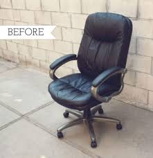 reupholster office chair. How To Transform A Boring Chair With Fabric And Lots Of Patience Inside Recovering An Office Reupholster