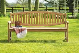 winchester teak double oval garden