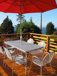 seattle mid century furniture. outdoor dining set from room and board west seattle mid century modern furniture