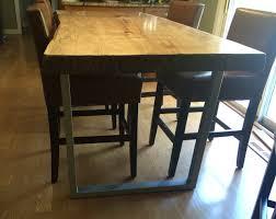 Tapered Coffee Table Legs 25 29 Steel Tube Table Legs Custom Table Legs Steel