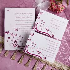 erfly design wedding invitations elegant purple erfly wedding invitations with response cards best