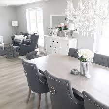 Instagram Wohnemotion Landhaus Esszimmer Modern Grau Weiß
