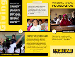 Helping It Out Opportunity- Union thewufoundation Western From To Twitter co