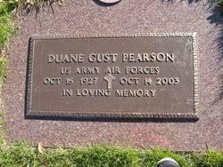 Duane Gust Pearson (1927-2003) - Find A Grave Memorial