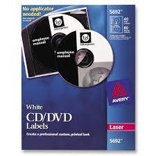 Avery 8942 Avery Cd Labels Permanent Adhesive Length Inkjet