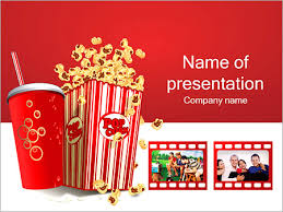 Movie Powerpoint Template Movie Time Powerpoint Template Infographics Slides