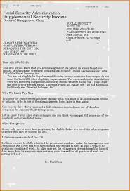 social security benefits letter 016