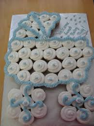 Baby Shower Pull Apart Cupcake Cake  Cakes  Pinterest  Pull Pull Apart Baby Shower Cupcakes