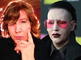 marilyn manson from stars without makeup the shock rocker ditches his extreme makeup for an eastbound down cameo and is unrecognizable
