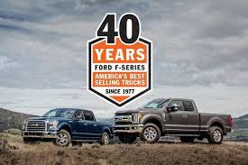 f series the best selling trucks in america for 40 straight years