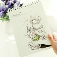 breeze creative trends spiral sketch book drawing blank sketch book a4 in notebooks from office supplies on aliexpress