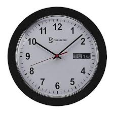 timekeeper meridian office wall clock
