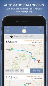 ifta mileage tracker ifta plus driver app by windsor trucking solutions llc maps