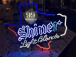 Shiner Neon Light Shiner Light Blonde Neon Sign Real Neon Light Glass Tube Neon Light