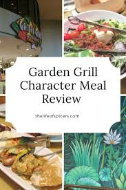 garden grill character meal in epcot waltdisneyworld charactermeal disneyworld gardengrill epcot