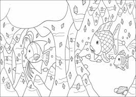 Small Picture Rainbow Fish Coloring Pages Coloring Pages