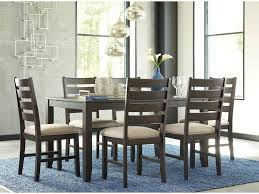 signature design by ashley rokane contemporary 7 piece dining room table set del sol furniture dining 7 or more piece sets
