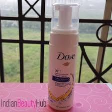 dove 3 in 1 make up removing foaming cleanser review