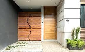 front door gate. Front Door Gate And Garden Contemporary Entry