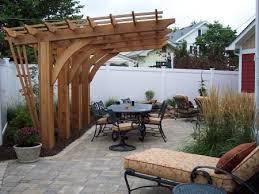 pergola design. outdoor livingamazing small wooden patio pergola design idea with green garden plants plus modern