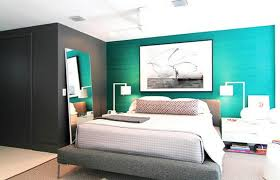 accent wall paint ideasbedroom  Beautiful Teal Accent Wall A Teal Accent Wall Bedroom